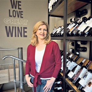 Paola Tich, Founder of Park and Bridge boutique wine store in Acton